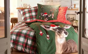 Geborgenheit schenken mit Winterbettwäsche - jetzt Händler finden!